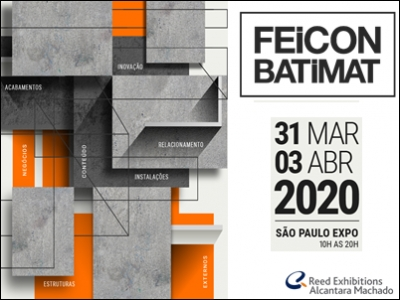 Retomada do setor de constru��o civil aumenta expectativas para Feicon Batimat 2020