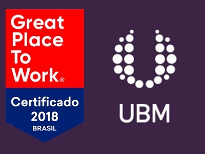 UBM Brazil conquista o selo de certificação Great Place to Work 2018