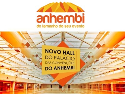 Novo hall do Palácio do Anhembi