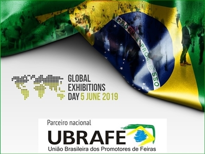 O mundo se uniu para mais uma comemoração do Global Exhibitions Day, promovia pela UFI - The Global Association of the Exhibition Industry
